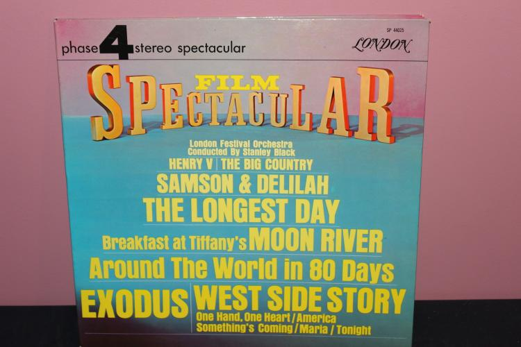 FILM SPECTACULAR LONDON ORCHESTRA PLAYS MOVIE GREATS - VERY GOOD COND. - MADE IN ENGLAND