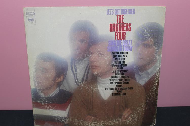 THE BROTHERS FOUR - COLUMBIA CS9818 - GOOD COND