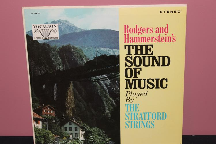 SOUND OF MUSIC PLAYED BY STRATFORD STRINGS VOCALION RECORDS - RECORDED IN EUROPE