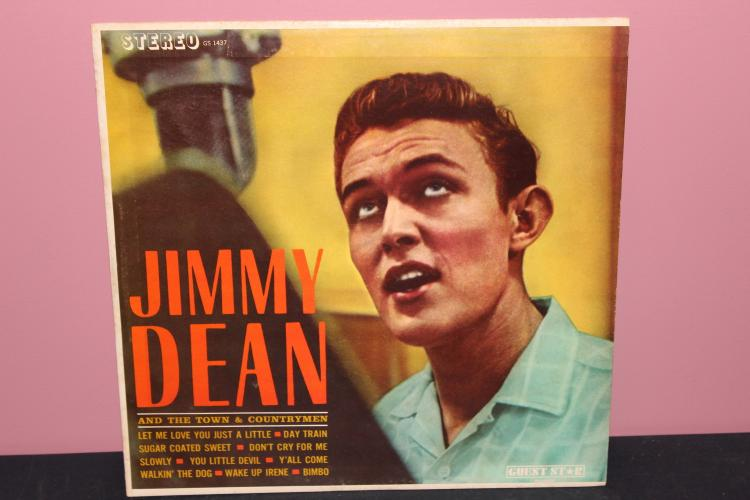 JIMMY DEAN GUEST STAR RECORDS - LIKE NEW