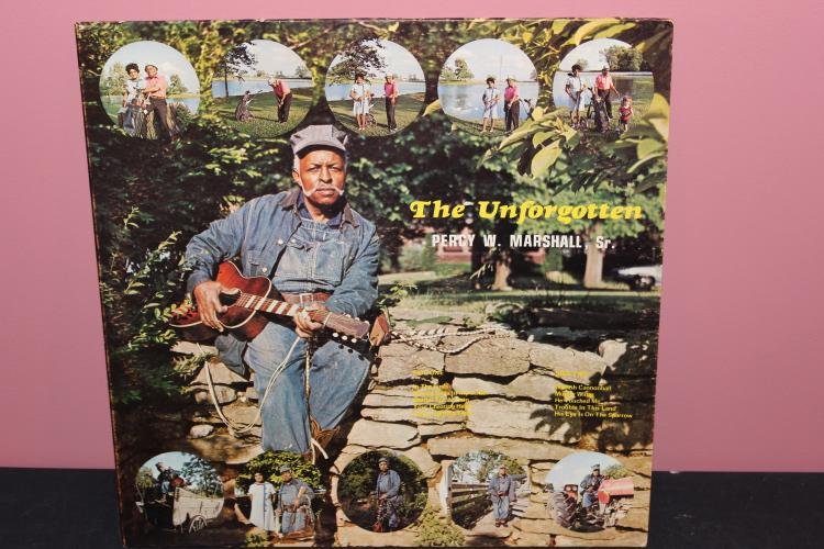 THE UNFORGOTTEN PERCY W. MARSHALL SR. - HOMESTEAD RECORDS 750650 - LIKE NEW