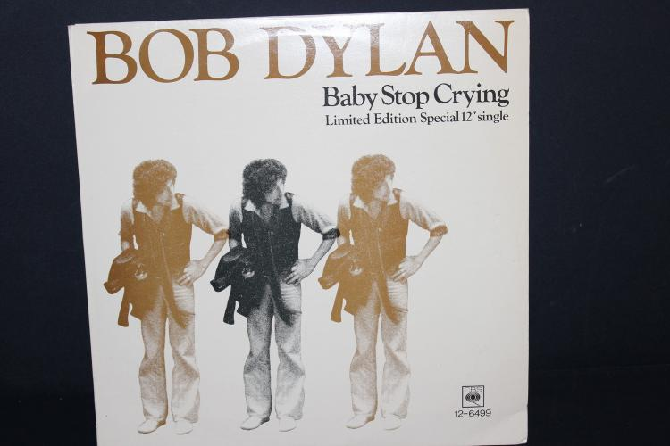 BOB DYLAN - BABY STOP CRYING - LIMITED EDITION SPECIAL 12