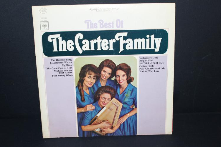 THE BEST OF THE CARTER FAMILY 2319 COLUMBIA RECORDS - LIKE NEW