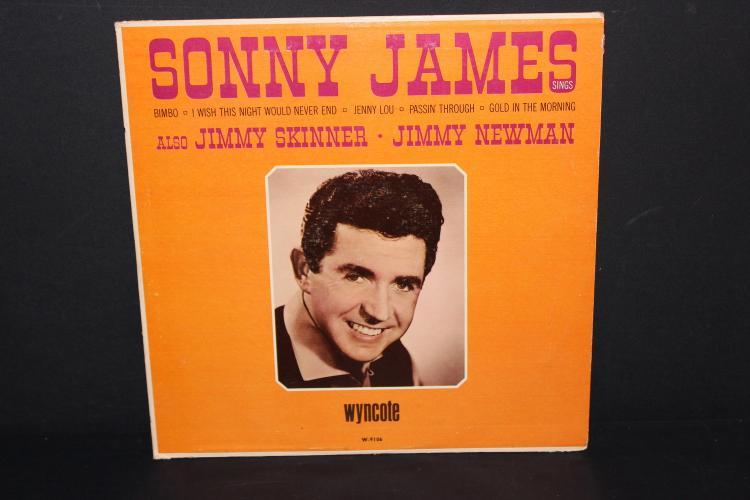 SONNY JAMES W/ JIMMY SKINNER & JIMMY NEWMAN - WYNCOTE L.P.