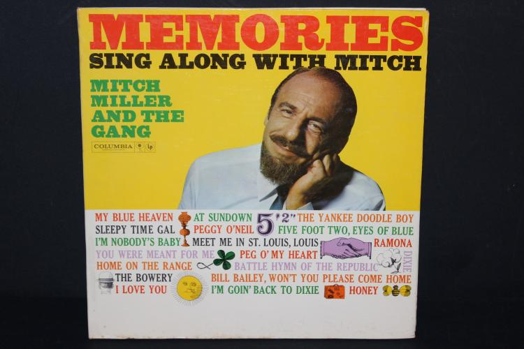 MEMORIES SING ALONG W/ MITCH - COLUMBIA GATEFOLD W/ LYRICS BOOKLET - NEAR MINT