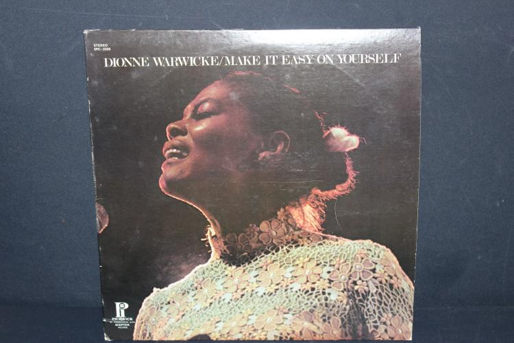 DIONNE WARWICKE - MAKE IT EASY ON YOURSELF - PICKWICK RECORDS - VERY GOOD COND.