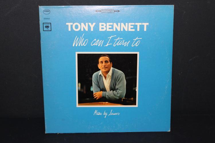 TONY BENNETT WHO CAN I TURN TO - LIKE NEW 1972