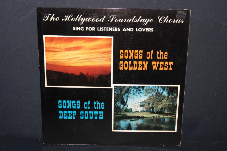 SONGS OF THE WEST AND DEEP SOUTH - VERY GOOD COND - SOMERSET RECORDS
