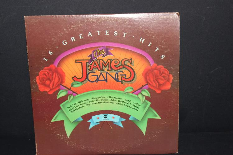 16 GREAT HITS THE JAMES GANG 1973 ABC RECORDS - LIKE NEW - 2 RECORD SET