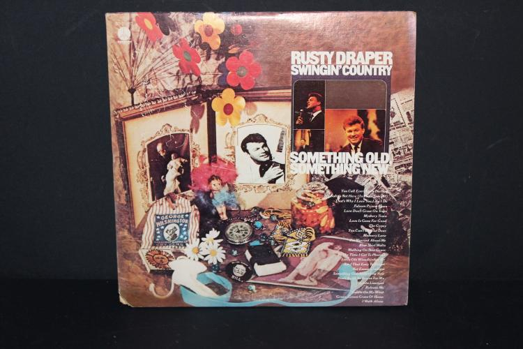 RUSTY DRAPER SWINGIN COUNTRY SOMETHING OLD SOMETHING NEW - GATEFOLD ALBUM 2 L.P. RECORD SET - LIKE NEW