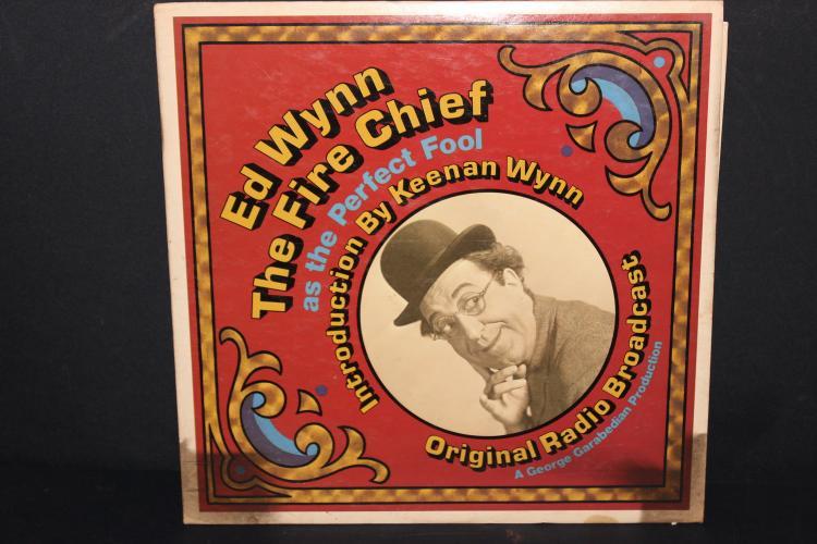 ED WYNN THE FIRE CHIEF - ORIG. RADIO BROADCAST 1973 - LIKE NEW