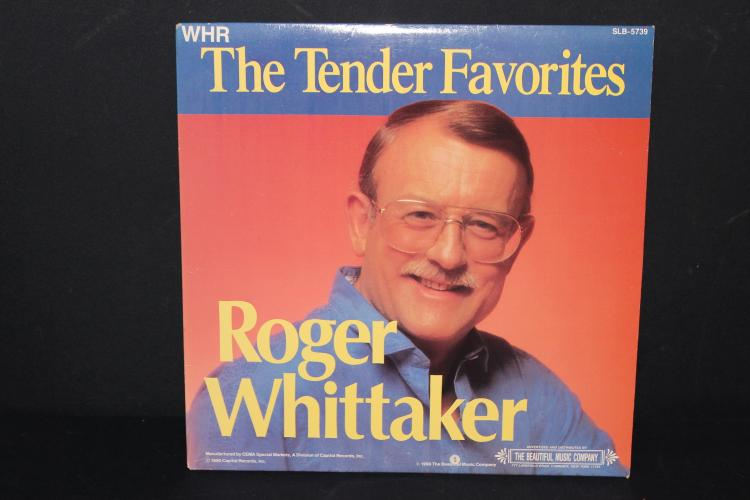 2 RECORD ALBUM SET ROGER WHITTAKER THE TENDER FAVORITES - LIKE NEW 1990 NOT SOLD IN STORES