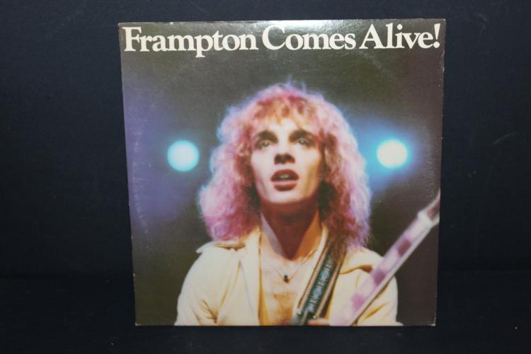FRAMPTON COMES ALIVE 1976 - 2 RECORD SET GATEFOLD - LIKE NEW