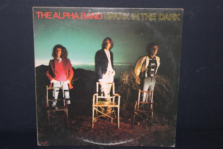 ALPHA BAND- SPARK IN THE DARK - ARISTA RECORDS 1977 LIKE NEW