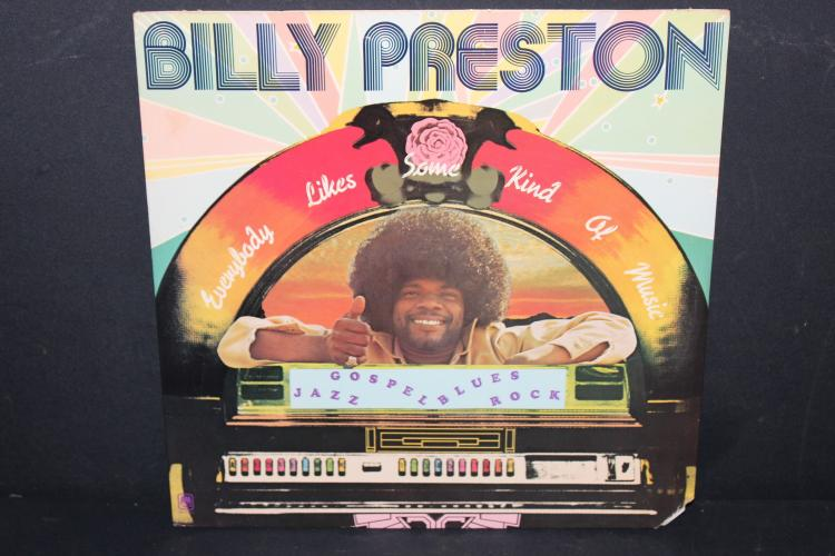 BILLY PRESTON 1973 AMI RECORDS - PRODUCED BY BILLY PRESTON