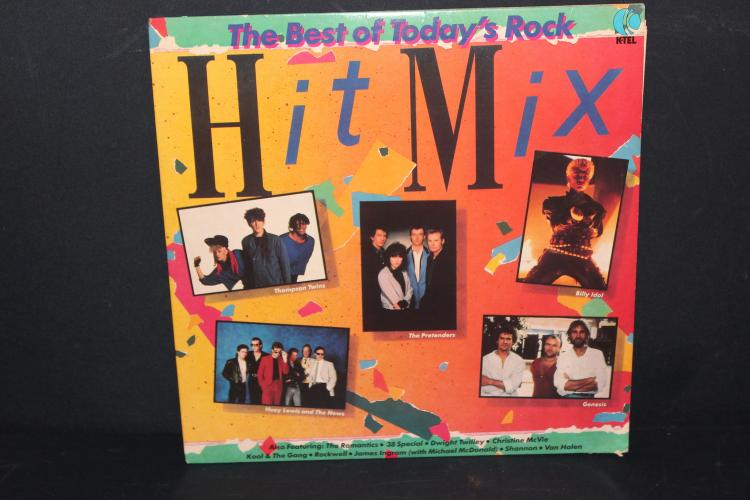 BEST OF TODAYS ROCK HIT MIX - SONGS BY ORIG. ARTISTS - LIKE NEW 1984 - KTEL RECORDS