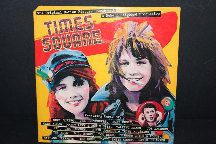 ORIG. MOTION PICTURE SOUNDTRACK - TIME SQUARE - ALL ORIG. ARTISTS - LIKE NEW - 2 RECORD SET