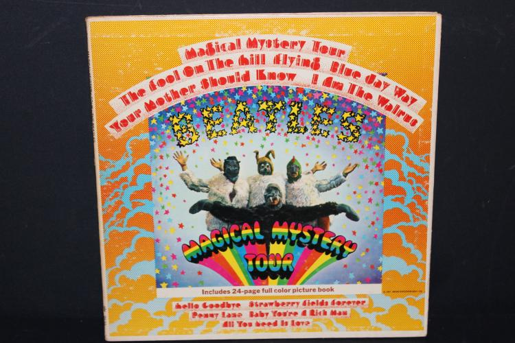 BEATLES MAGICAL MYSTERY TOUR CAPITAL RECORDS 2835 GATEFOLD WITH BOOKLET LIKE NEW