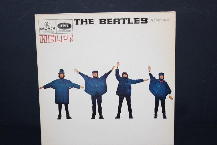 THE BEATLES HELP EMI RECORDS LIKE NEW 1965