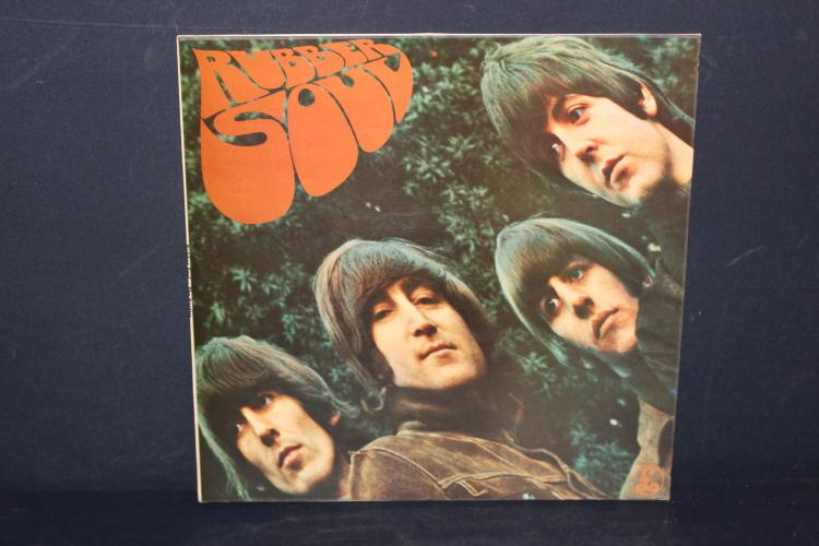 THE BEATLES RUBBER SOUL EMI RECORDS 1965 NEAR MINT