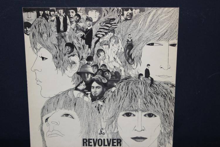 THE BEATLES REVOLVER PARLOPHONE EMI RECORDS 1966 NEAR MINT