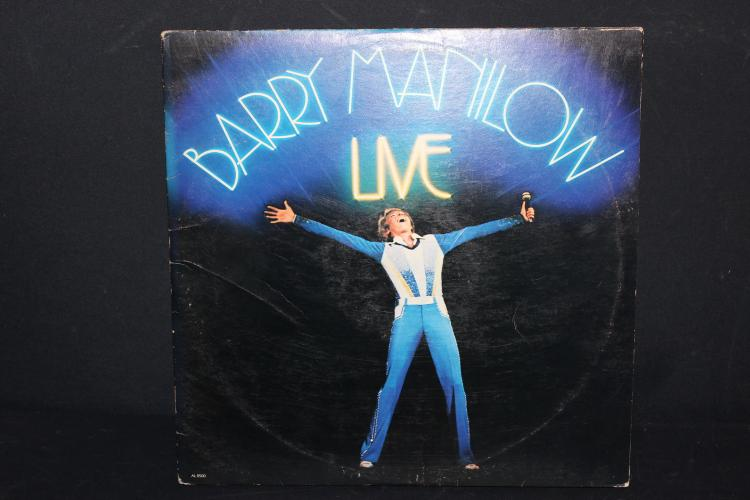 BARRY MANILOW LIVE 1977 ARISTA RECORDS  GATEFOLD LIKE NEW 2 RECORDS