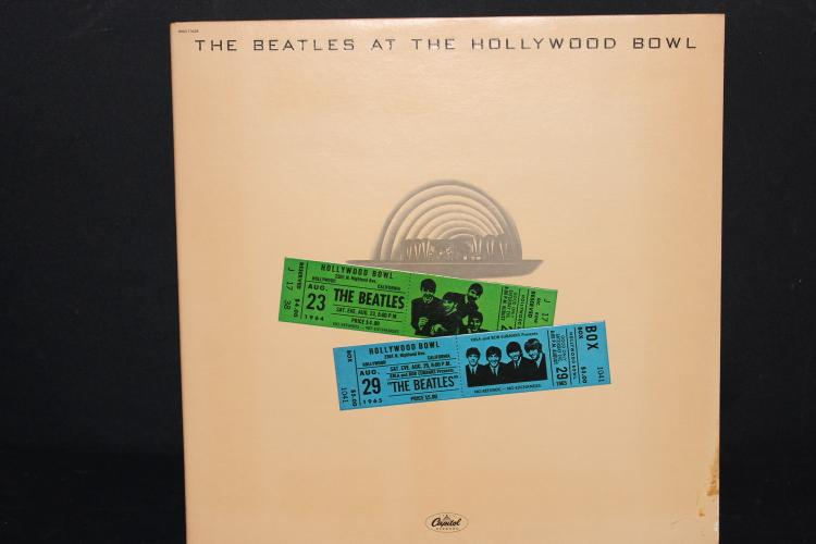 BEATLES AT HOLLYWOOD BOWL 1977 CAPITAL RECORDS LIKE NEW GATEFOLD ALBUM