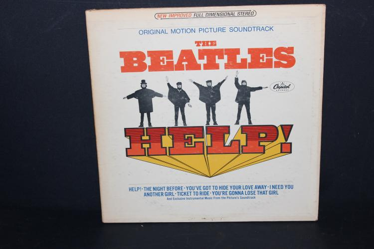 BEATLES – HELP MOTION PICTURE SOUNDTRACK GATEFOLD CAPITAL RECORDS LIKE NEW