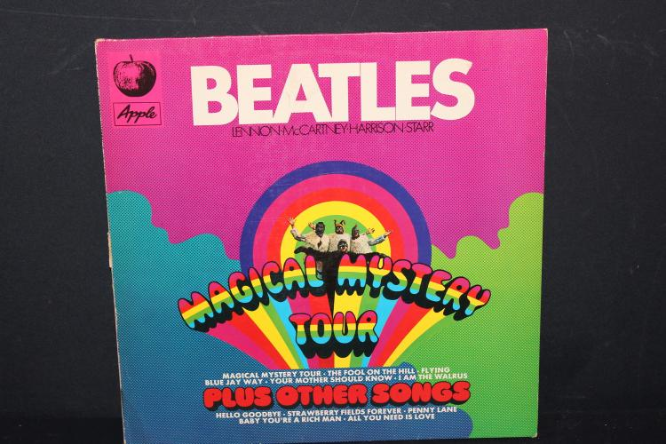 BEATLES MAGICAL MYSTERY TOUR EMI RECORDS MADE IN GERMANY LIKE NEW
