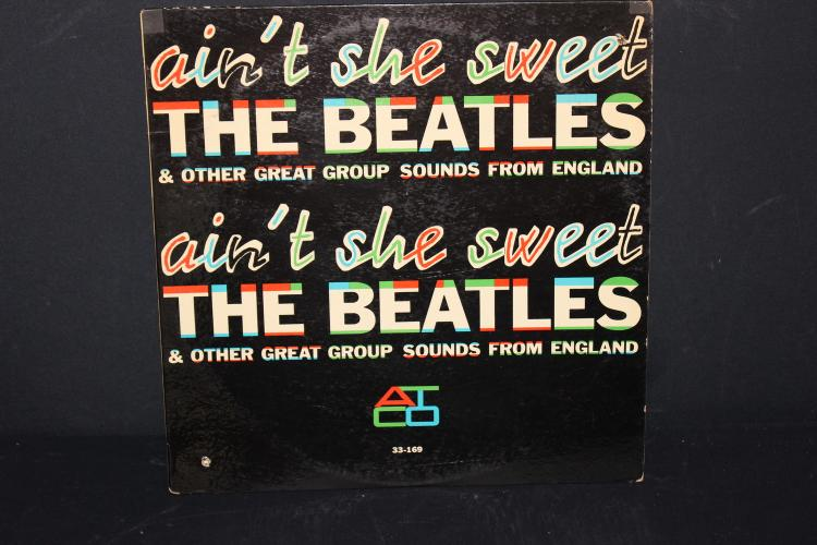 BEATLES AND OTHER GREAT GROUP SOUNDS FROM ENGLAND ATCO -33-169 1964 RARE LIKE NEW