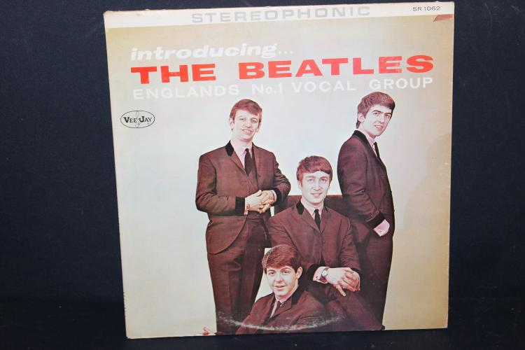 INTRODUCING THE BEATLES VEEJAY RECORDS 1062 LIKE NEW
