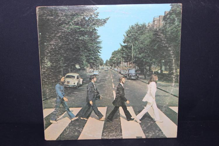 THE BEATLES ABBEY ROAD H APPLE RECORDS RECORDED IN ENGLAND LIKE NEW