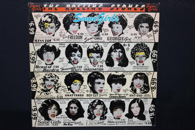 ROLLING STONES SOME GIRLS 1978 ROLLING STONES RECORDS COC 39108 GREAT ALBUM COVER LIKE NEW