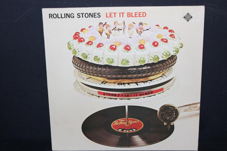 ROLLING STONES LET IT BLEED 1969 MADE IN GERMANY # 621417 LIKE NEW