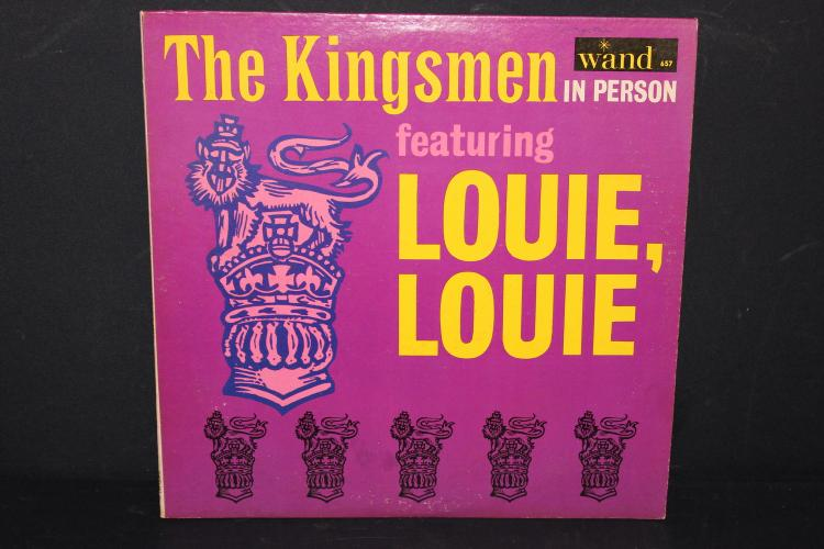 THE KINGSMAN FEATURING LOUIE LOUIE WAND 657