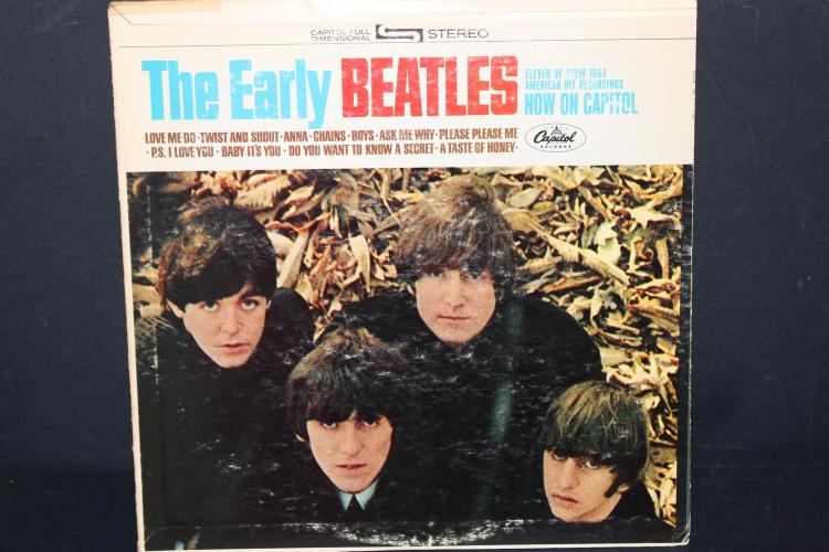 EARLY BEATLES CAPITAL RECORDS 2309 LIKE NEW L.P.