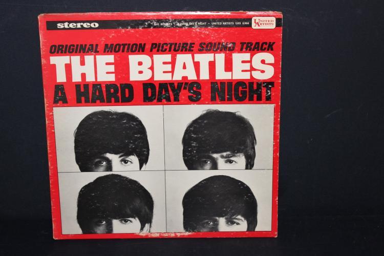 BEATLES MOVIE SOUND TRACK A HARD DAYS NIGHT UNITED ARTIST 6366