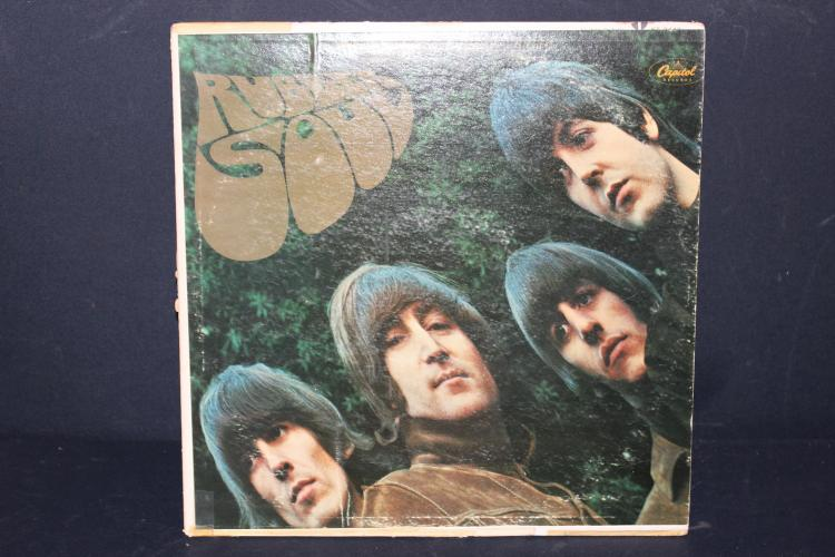 BEATLES RUBBER SOUL CAPITAL RECORDS EMI ST 2442 L.P. LIKE NEW