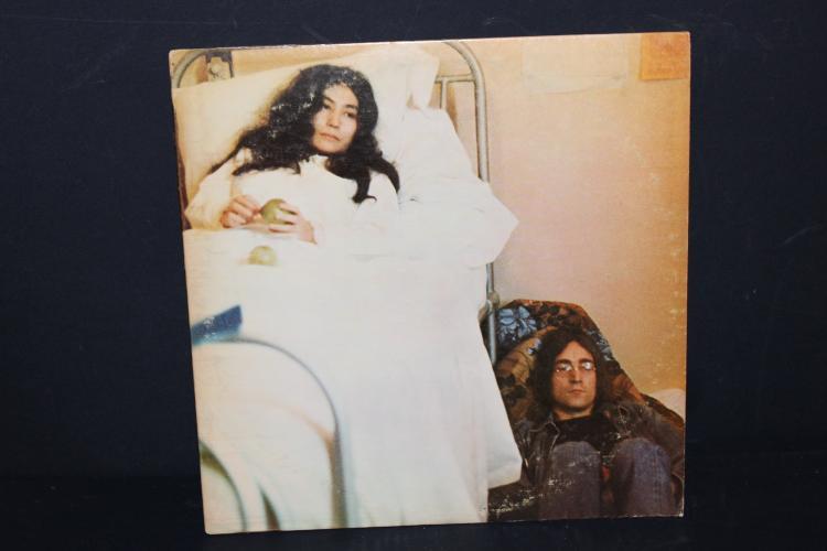 JOHN LENNON YOKO ONO RECORDED IN ENGLAND 1968 APPLE LIKE NEW