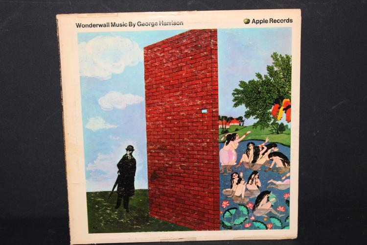 WONDERWALL – GEORGE HARRISON APPLE RECORDS RCORDED IN INDIA NEAR MINT