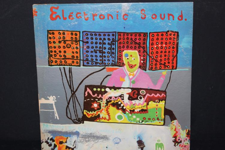 GEORGE HARRISON ELECTRONC SOUND UNDER THE MESEY WALL , RECORDED IN ENGLAND SIDE 2 NO TIME FOR SPACE RECORDED IN CALIFORNIA APPLE RECORDS LIKE NEW