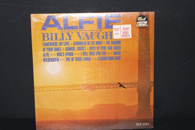 FACTORY SEALED BILLY VAUGHN SING SONGS FROM THE MOVIE ALFIE DOT RECORDS 25751