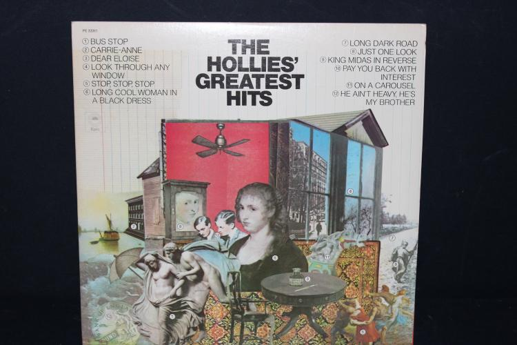 THE HOLLIES GREATEST HITS 1973 C.B.S. RECORDS LIKE NEW
