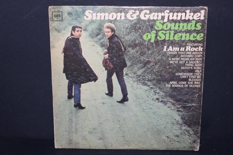 SIMON AND GARFUNKEL SOUNDS OF SILENCE COLUMBIA 2469 NEAR MINT