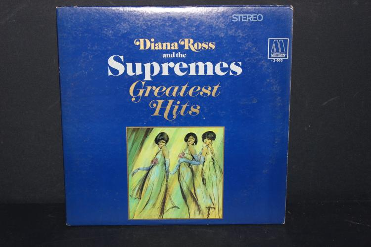 DIANA ROSS AND THE SUPREMES GREATEST HITS MOTOWN 1967 DOUBLE ALBUM GATEFOLD LIKE NEW