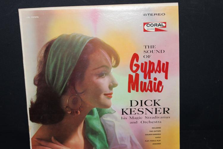 GYPSY MUSIC CORAL RECORDS LIKE NEW 757376
