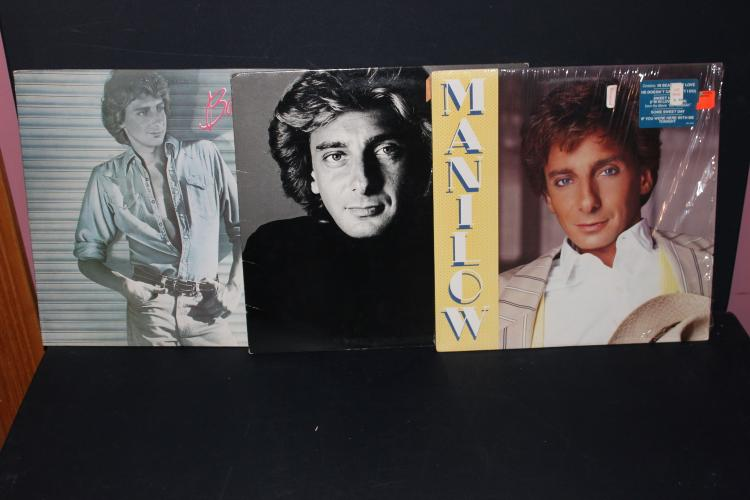 3 ALBUM LOT BARRY MANILOW ALL LIKE NEW 1 RCA 2 ARISTA RECORDS 1980- 79-85
