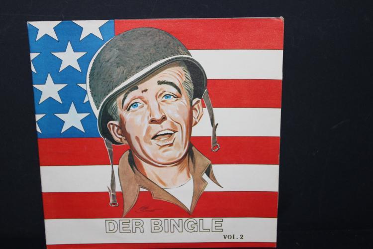 DER BINGLE – BING CROSBY 1977 SPOKANE RECORDS LIKE NEW