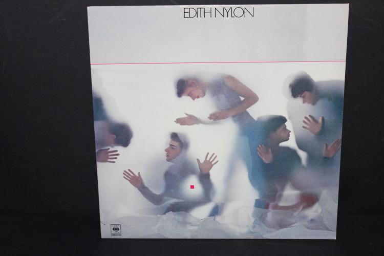 EDITH NYLON CBS RECORDS 83708 MADE IN FRANCE LIKE NEW