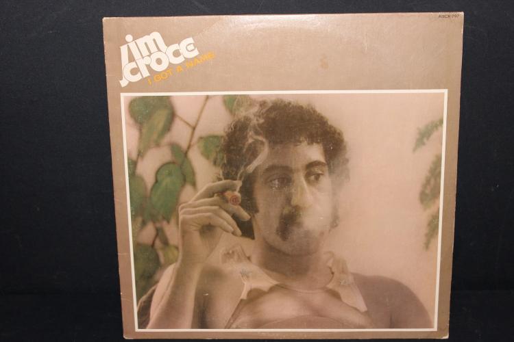 JIM CROCE I GOT A NAME ABC RECORDS 1973 LIKE NEW